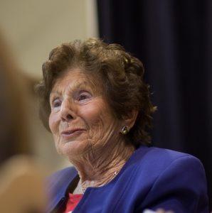 Livia Fränkel berättar om livet efter ett koncentrationsläger.