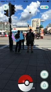 Pokemon hittad utanför ÅST. Bild: Lotta Palmgren