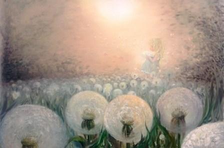 Akvarell av Victoria Yaroshik, lärare på arbis.