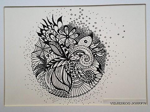Mandala av Josefin Vidjeskog.