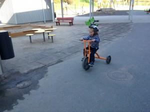 Cykelglädje!