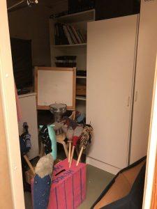 kuva varastohuoneesta