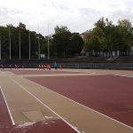 Paavo Nurmi Stadionilla.