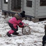 Lumipalloja