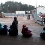 Pitämässä sadetta