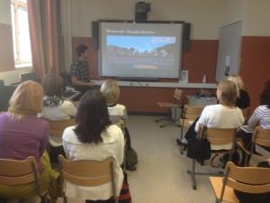 Tuomo Harju kertoo Minecraft-pelin ympärillä toimivasta koulukerhosta.