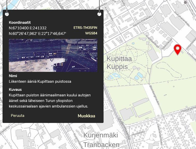 Paikkatieto Kartta Nyt