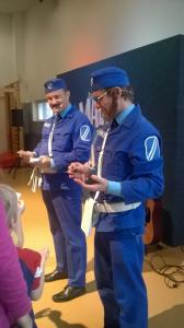 Kerttulin vanhempainyhdistyksen kustantama Maltti ja Valtti esitys marraskuussa 2015.