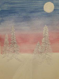 Talvinen horisontti