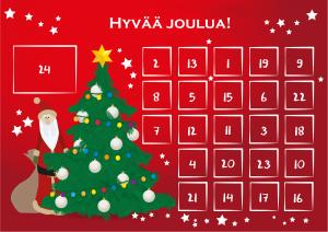 joulukalenteri 2018 molla Joulukalenteri 2017 MOLLA joulukalenteri 2018 molla