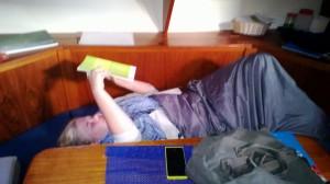 Matematiikan opiskelua Nauvossa aamulla klo 7 (opettajien lempikuva)