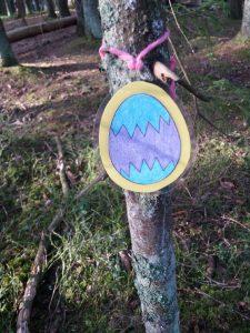 pääsiäismuna puussa