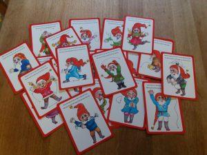 Tonttujumppa kortit