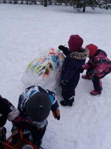 maalasimme lunta