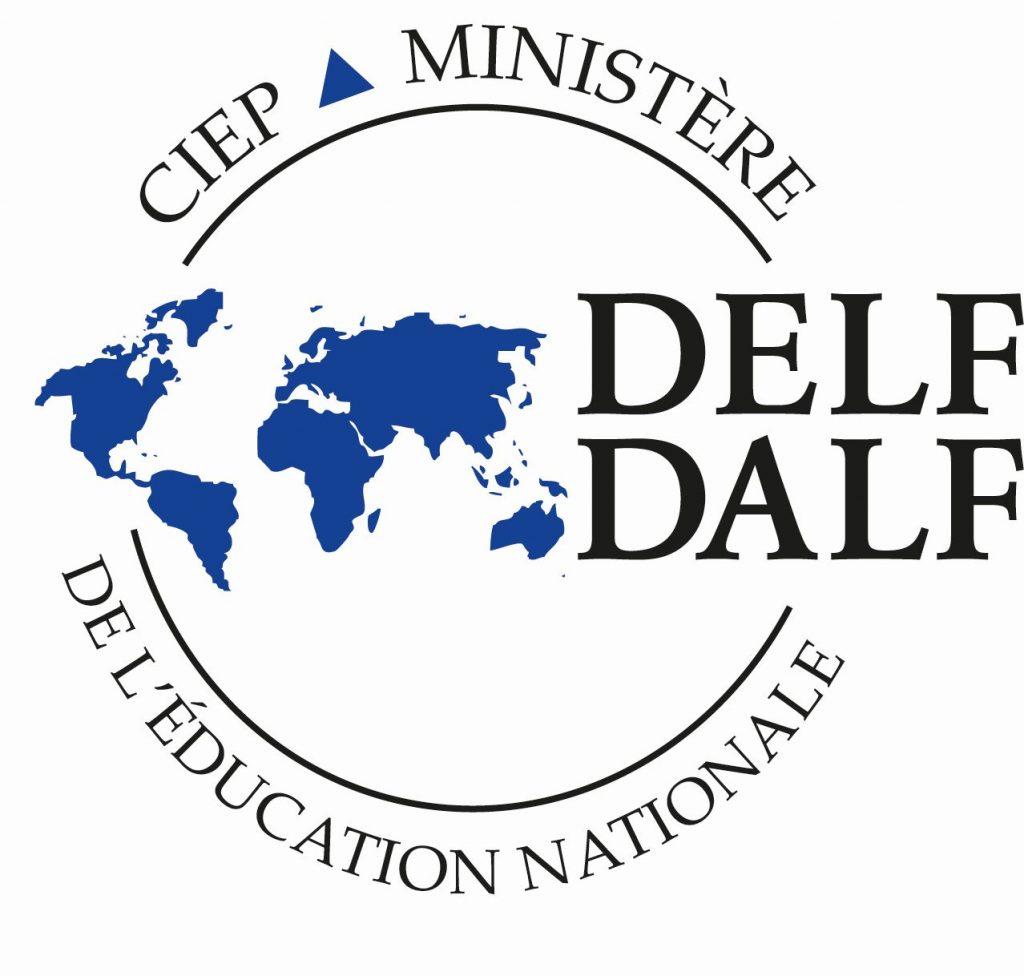 DELF-kielitutkinnon logo