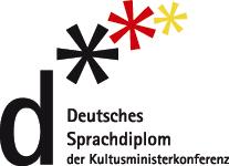 Sprachdiplom logo ja linkki.
