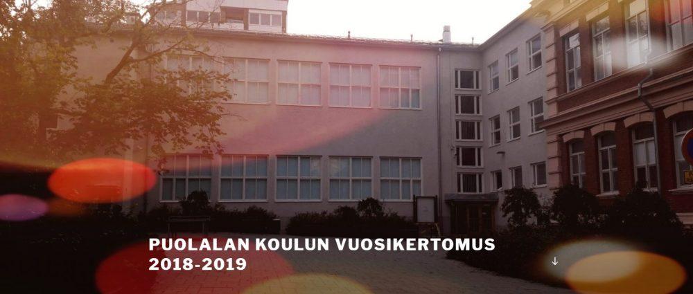 Kuvassa Puutarhakadun koulurakennuksen sisäpiha.