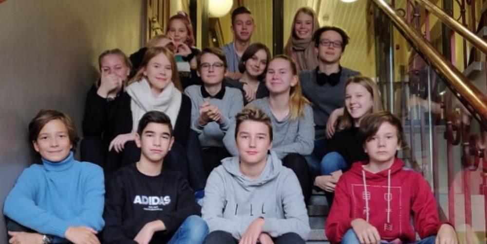 Puolalan koulun oppilaskunta