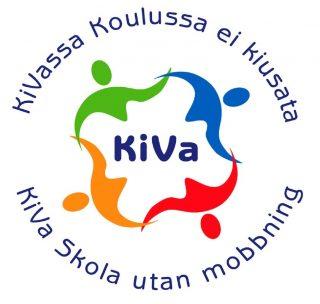 KiVa - Kiusauksen Vastaisen toimenpideohjelman logo