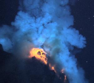 Underwater vulcanoe.
