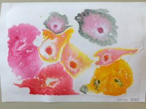 Konstverk av lärare