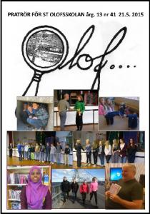 Olof nummer 41 (maj 2015) PDF.