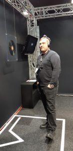 Virtuaalinen 3D-äänitila