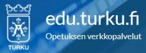 Kuvassa Turun kaupungin opetuksen verkkopalveluiden logo.